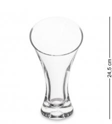 NM-21703 Ваза стеклянная, 24,5 см  Неман
