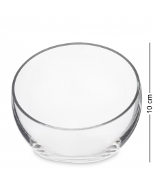 NM-24694 Ваза-шар стеклянная 10 см  Неман