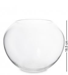 NM-24792 Ваза-шар стеклянная 18,5 см  Неман
