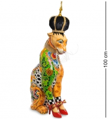 TG-4114 Статуэтка  Леопард Рой   Томас Хоффман