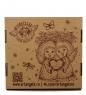ANG-105 Панно керамическое Ангел хранитель мира 10х10