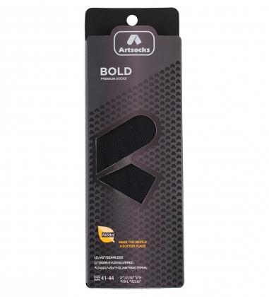 Носки мужские Bold ASUM-0002 41-44 черный  Artsocks
