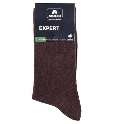 Носки мужские Expert ASM-0004  41-44 коричневый  Artsocks