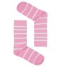 Носки женские Line ASW-0003  35-39 роз-бел  Artsocks