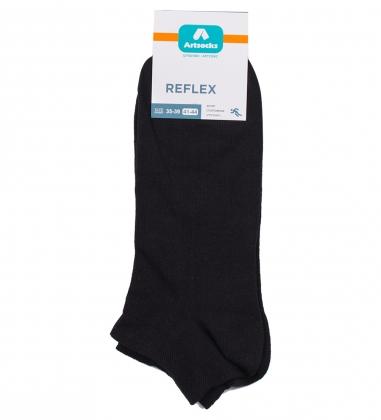 Носки спортивные Reflex ASS-0016  35-39 черный  Artsocks