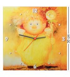 ANG-119 Часы  Ангел крепкого здоровья  30х30