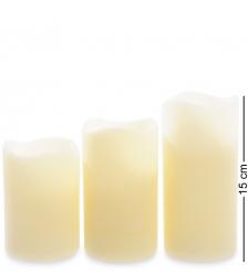 LED-03 Набор светодиодных свечей  3шт.  с дистанционным управлением