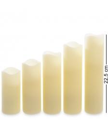 LED-06 Набор светодиодных свечей  5шт.  с дистанционным управлением