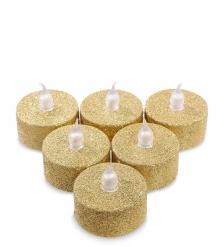 LED-21 Набор светодиодных чайных свечей  6шт.