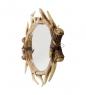 TM-36 Зеркало настенное Олений рог