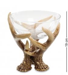 TM-41 Декоративная чаша  Олений рог