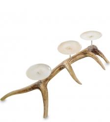 TM-45 Подсвечник на три свечи  Олений рог