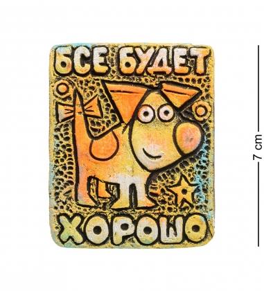 KK-566 Магнит Собака шамот