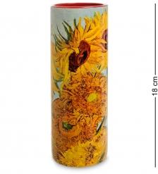 pr-VAS01GO Ваза «Sunflowers» Винсент Ван Гог  Museum Parastone