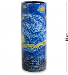 pr-VAS02GO Ваза «The Starry Night» Винсент Ван Гог  Museum Parastone