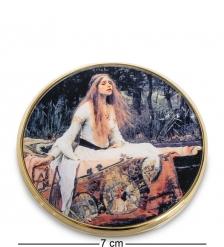 pr-M18WA Зеркальце  Леди из Шалот  Джон Уильям Уотерхаус  Museum.Parastone