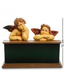 pr-AN10 Статуэтка Ангелочки  Сикстинская Мадонна  Рафаэль  Museum.Parastone