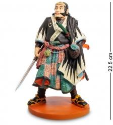 pr-KU03 Статуэтка  Японский воин CHIBA SABROHEI MITSUTADA   Museum.Parastone