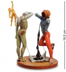 pr-SD11 Статуэтка  Поэзия Америки - Космические атлеты  Сальвадор Дали  Museum.Parastone