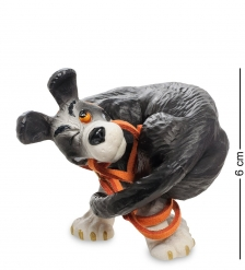 pr-RUF03 Статуэтка  Собака   JUST GO! Rufus. Parastone