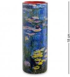 pr-VAS05MO Ваза «Water lilies» Клод Моне  Museum Parastone