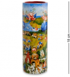 pr-VAS06JB Ваза «The garden of earthly delights» И.Босх  Museum.Parastone