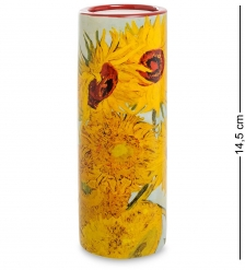 pr-TC01GO Подсвечник «Sunflowers» Винсент Ван Гог  Museum Parastone