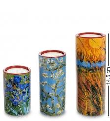 pr-TS01GO Набор подсвечников «Willows - Irises - Blossom» Винсент Ван Гог  Museum Parastone