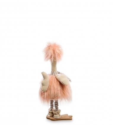 AMD-13 Фигура декоративная Розовый фламинго