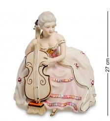 SV- 88 Статуэтка  Девушка с виолончелью   Sabadin Vittorio