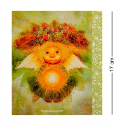 ANG-181 Открытка «Солнечный ангел» 15х17