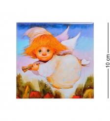 ANG-210 Магнит  Ангел дарящий рассвет  10х10