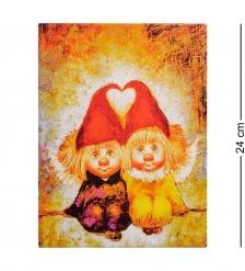 ANG-239 Жикле  Ангелы вечной любви  18х24