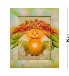 ANG-249 Жикле в раме  Солнечный ангел  18х24