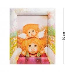 ANG-251 Жикле в раме  Ангел семейной любви  18х24