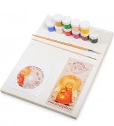 ANG-300 Мастер-класс по живописи  Нарисуй своего ангела