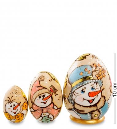 МР-18/31 Матрешка-Яйцо 3м  Снеговик  - Вариант A