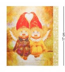 ANG-276 Открытка  Ангелы вечной любви  15х17