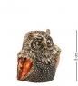 AM-2055 Наперсток  Сова Сипуха   латунь, янтарь
