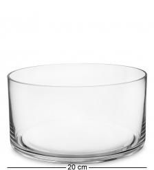 NM-24155 Ваза-цилиндр стеклянная 10 см  Неман