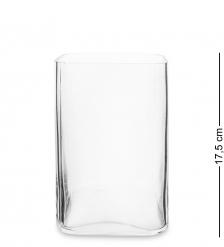 NM-24159 Ваза-подсвечник стеклянная 17,5 см  Неман