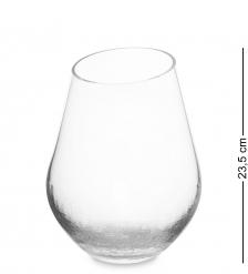 NM-25480 Ваза для цветов стеклянная 22,5 см  Неман