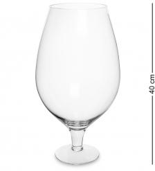NM-27228 Ваза-бокал стеклянная 7.0 л  Неман