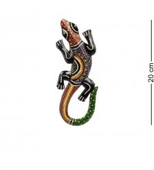 20-230 Панно настенное «Геккон»  албезия, о.Бали  20см