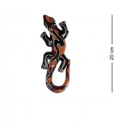20-233 Панно настенное «Геккон»  албезия, о.Бали  20см