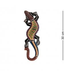 20-242 Панно настенное «Геккон»  албезия, о.Суматра  30 см
