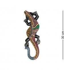 20-244 Панно настенное «Геккон»  албезия, о.Суматра  30 см