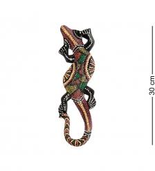 20-245 Панно настенное «Геккон»  албезия, о.Суматра  30 см
