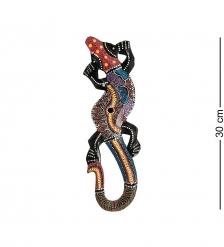 20-246 Панно настенное «Геккон»  албезия, о.Суматра  30 см