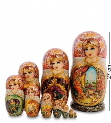 МР-25/110 Матрешка 10м «Золотой петушок»